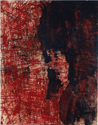 OSCAR MURILLO (solo) @ARTLINKART, exhibition poster