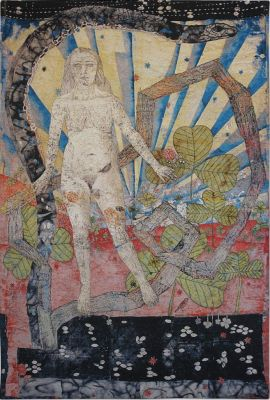 KIKI SMITH - WHAT I SAW ON THE ROAD (solo) @ARTLINKART, exhibition poster