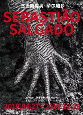 SEBASTIAO SALGADO (solo) @ARTLINKART, exhibition poster