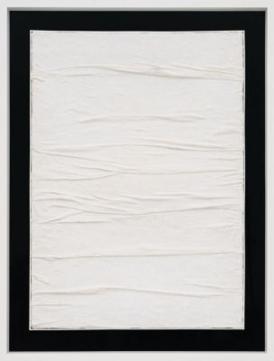 PIERO MANZONI - MATERIALS OF HIS TIME LINES (solo) @ARTLINKART, exhibition poster