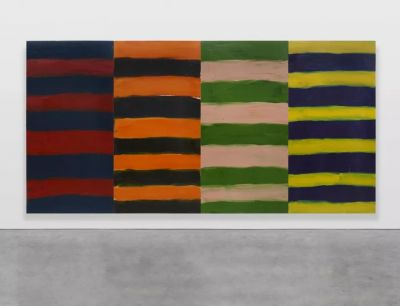 PAN - SEAN SCULLY (solo) @ARTLINKART, exhibition poster