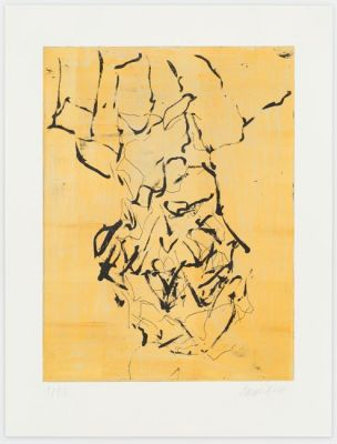GEORG BASELITZ - DEVOTION (solo) @ARTLINKART, exhibition poster