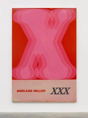 HARLAND MILLER (solo) @ARTLINKART, exhibition poster