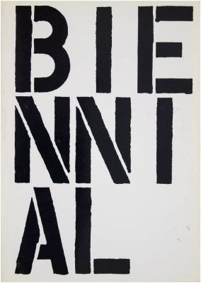 WHITNEY BIENNIAL 1989 (intl event) @ARTLINKART, exhibition poster