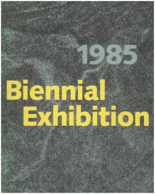WHITNEY BIENNIAL 1985 (intl event) @ARTLINKART, exhibition poster