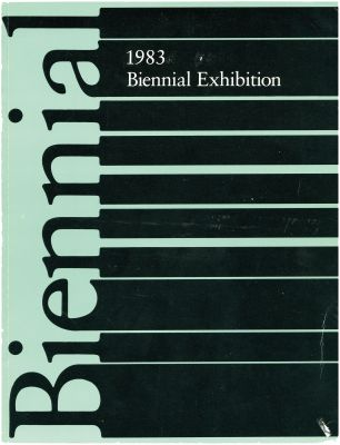 WHITNEY BIENNIAL 1983 (intl event) @ARTLINKART, exhibition poster