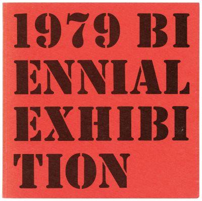 WHITNEY BIENNIAL 1979 (intl event) @ARTLINKART, exhibition poster
