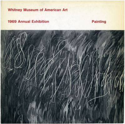 1969 ANNUAL EXHIBITION - CONTEMPORARY AMERICAN PAINTING (intl event) @ARTLINKART, exhibition poster