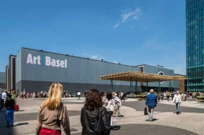 LAURENT GRASSO@ART BASEL 2019(PARCOURS) (art fair) @ARTLINKART, exhibition poster