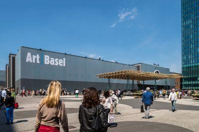 FRANZ WEST@ART BASEL 2019(UNLIMITED) (art fair) @ARTLINKART, exhibition poster
