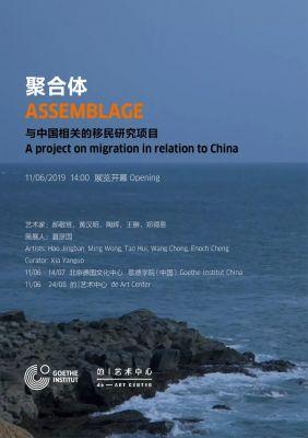 聚合体——与中国相关的移民研究项目 (群展) @ARTLINKART展览海报