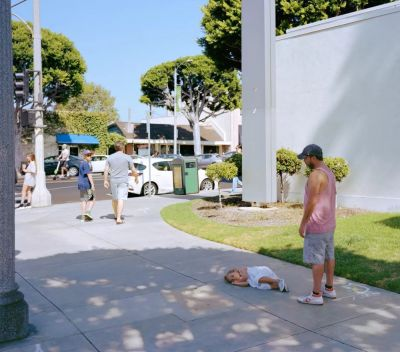 JEFF WALL (solo) @ARTLINKART, exhibition poster