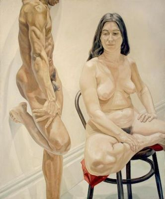 PHILIP PEARLSTEIN - AT 95 (solo) @ARTLINKART, exhibition poster