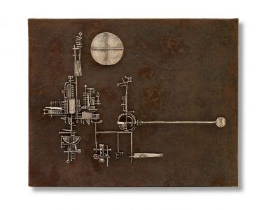 ARNALDO POMODORO 1955-65 (solo) @ARTLINKART, exhibition poster