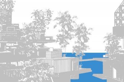 MARCOS LUTYENS - ISLAND ARK (solo) @ARTLINKART, exhibition poster