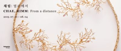 CHAE RIMM - FROM A DISTANCE (solo) @ARTLINKART, exhibition poster