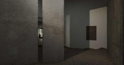 KIRSTINE ROEPSTORFF - EX CAVE (solo) @ARTLINKART, exhibition poster