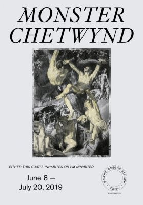 MONSTER CHETWYND (solo) @ARTLINKART, exhibition poster