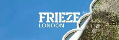 ALMINE RECH@FRIEZE LONDON ART FAIR 2019 (art fair) @ARTLINKART, exhibition poster