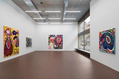 JUDITH BERNSTEIN - Blue Balls | exhibition | ARTLINKART