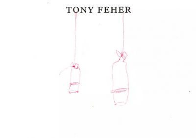 TONY FEHER (solo) @ARTLINKART, exhibition poster