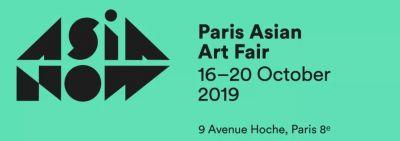 GALERIE LJ@5TH ASIA NOW PAIRS AISAN ART FAIR 2019 (art fair) @ARTLINKART, exhibition poster