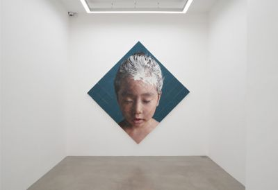 KANG KANG HOON (solo) @ARTLINKART, exhibition poster