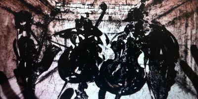 DAI CHENLIAN - MOBILE THEATRE (solo) @ARTLINKART, exhibition poster