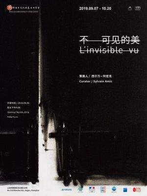 L'INVISIBLE VU (group) @ARTLINKART, exhibition poster