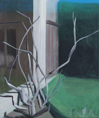 MARC DESGRANDCHAMPS - JARDINS OBSCURS (solo) @ARTLINKART, exhibition poster