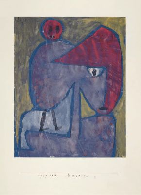PAUL KLEE - 1939 (solo) @ARTLINKART, exhibition poster