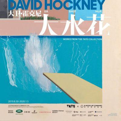 大卫·霍克尼——大水花 (个展) @ARTLINKART展览海报