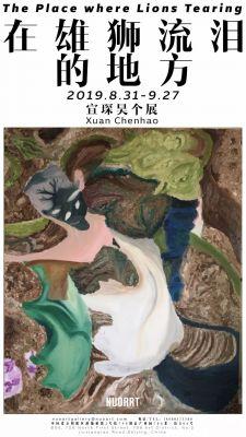 在雄狮流泪的地方——宣琛昊个展 (个展) @ARTLINKART展览海报