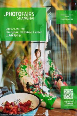 SEE + GALLERY@PHOTOFAIRS SHANGHAI 2019 (art fair) @ARTLINKART, exhibition poster
