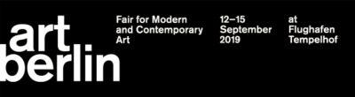 FELDBUSCHWIESNERRUDOLPH@ART BERLIN 2019(GALLERIES) (art fair) @ARTLINKART, exhibition poster