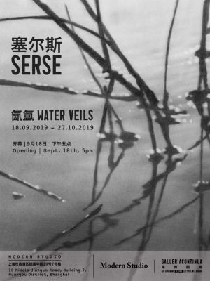 SERSE - WATER VEILS (solo) @ARTLINKART, exhibition poster