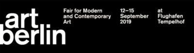 SCHIEFE ZäHNE@ART BERLIN 2019(SALON) (art fair) @ARTLINKART, exhibition poster