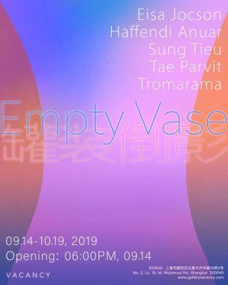 EMPTY VASE (group) @ARTLINKART, exhibition poster