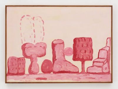 RESILIENCE - PHILIP GUSTON IN 1971 (solo) @ARTLINKART, exhibition poster