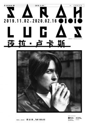 SARAH LUCAS (solo) @ARTLINKART, exhibition poster