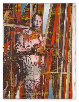 JAN MUCHE - AUFMACHEN. LINIEN. WEITEN. (solo) @ARTLINKART, exhibition poster