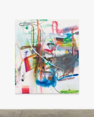 ALBERT OEHLEN - NEW PAINTINGS (solo) @ARTLINKART, exhibition poster