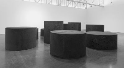 RICHARD SERRA - FORGED ROUNDS (solo) @ARTLINKART, exhibition poster