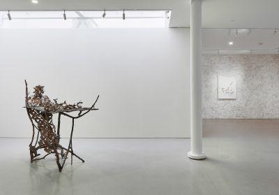 GIUSEPPE PENONE - LEAVES OF BRONZE (solo) @ARTLINKART, exhibition poster