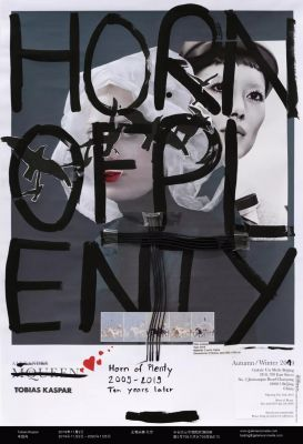 TOBIAS KASPAR - HORN OF PLENTY (solo) @ARTLINKART, exhibition poster
