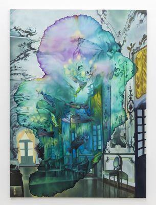 ARIANA PAPADEMETROPOULOS - JUST LIKE ARCADIA (solo) @ARTLINKART, exhibition poster