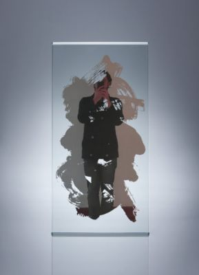 ALEXANDRE OUAIRY (solo) @ARTLINKART, exhibition poster