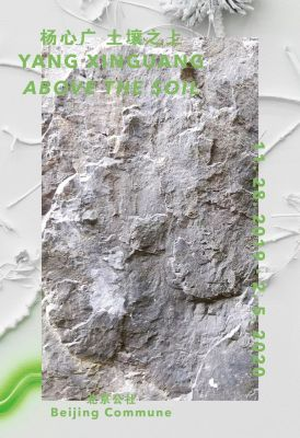YANG XINGUANG - ABOVE THE SOIL (solo) @ARTLINKART, exhibition poster
