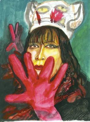 SADRA BANIASADI - SISTERS (solo) @ARTLINKART, exhibition poster