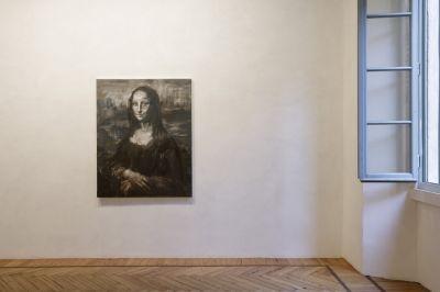 YAN PEI-MING - L'ULTIMO SORRISO, LE DERNIER SOURIRE, THE LAST SMILE (solo) @ARTLINKART, exhibition poster